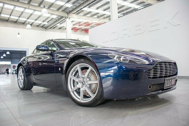 Aston Martin V Vantage Midnight Blue Speed Manual Coupe - 2006 aston martin