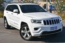 2014 Jeep Grand Cherokee WK MY2014 Overland White 8 Speed Sports Automatic Wagon Maddington Gosnells Area Preview