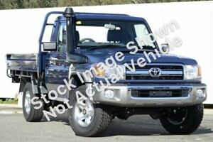 2012 Toyota Landcruiser VDJ79R MY10 GXL Graphite 5 Speed Manual Cab Chassis Wangara Wanneroo Area Preview