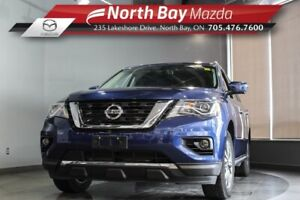 2018 Nissan Pathfinder SL 4WD with Leather, Pano Sunroof, Heated