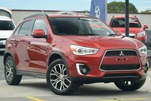 2015 Mitsubishi ASX XB MY15 LS 2WD Red 6 Speed Constant Variable Wagon Thornleigh Hornsby Area Preview