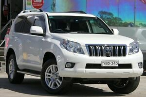 2013 Toyota Landcruiser Prado KDJ150R 11 Upgrade Kakadu (4x4) Crystal Pearl 5 Speed Sequential Auto Old Guildford Fairfield Area Preview