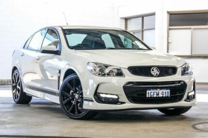 2017 Holden Commodore VF II MY17 SV6 White 6 Speed Automatic Sedan Cannington Canning Area Preview