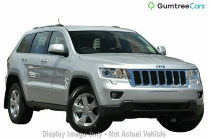 2013 Jeep Grand Cherokee WK MY2013 Laredo Silver 5 Speed Sports Automatic Wagon