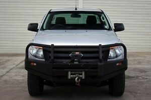 2012 Ford Ranger PX XL Super Cab Silver 6 Speed Manual Utility Seaford Frankston Area Preview