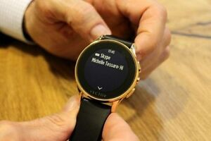 Vector Luna smartwatch - iphone, android, windows phone Kitchener / Waterloo Kitchener Area image 1