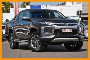 2018 Mitsubishi Triton MR MY19 GLS Double Cab Graphite Grey 6 Speed Sports Automatic Utility