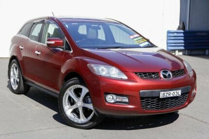 2008 Mazda CX-7 ER1031 MY07 Luxury Red 6 Speed Sports Automatic Wagon