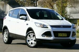 2014 Ford Kuga TF Ambiente AWD White 6 Speed Sports Automatic Wagon Granville Parramatta Area Preview