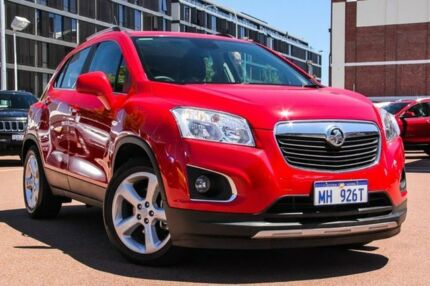 2015 Holden Trax TJ MY15 LTZ Red 6 Speed Automatic Wagon Fremantle Fremantle Area Preview