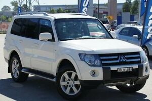 2009 Mitsubishi Pajero White Sports Automatic Wagon Greenacre Bankstown Area Preview