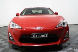 2014 Toyota 86 ZN6 GT Red 6 Speed Manual Coupe