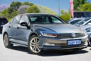 2016 Volkswagen Passat 3C (B8) MY17 140TDI DSG Highline Silver 6 Speed Sports Automatic Dual Clutch Myaree Melville Area Preview