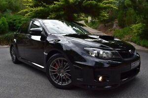 2011 Subaru Impreza G3 MY12 WRX AWD Black 5 Speed Manual Sedan St Marys Mitcham Area Preview