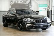 2015 BMW 740i G11 Steptronic Black 8 Speed Sports Automatic Sedan Albion Brisbane North East Preview