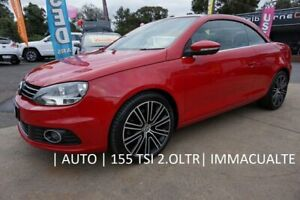 2011 Volkswagen EOS 1F MY12 155TSI DSG Salsa Red 6 Speed Sports Automatic Dual Clutch Convertible Dandenong Greater Dandenong Preview