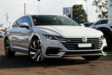 2017 Volkswagen Arteon 3H MY18 206TSI Sedan DSG 4MOTION R-Line White 7 Speed Cannington Canning Area Preview