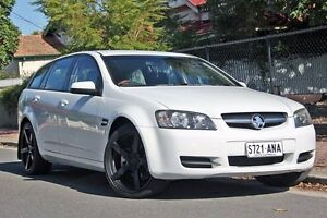 2009 Holden Commodore VE MY09.5 Omega Sportwagon White 4 Speed Automatic Wagon Glenelg Holdfast Bay Preview