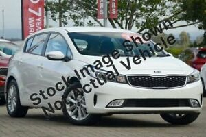 2016 Kia Cerato YD MY17 S Premium Clear White 6 Speed Sports Automatic Hatchback Underwood Logan Area Preview