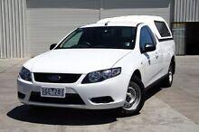 2009 Ford Falcon  White Sports Automatic Utility Cranbourne Casey Area Preview