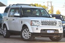 2012 Land Rover Discovery 4 Series 4 MY12 TdV6 CommandShift White 6 Speed Sports Automatic Wagon Osborne Park Stirling Area Preview