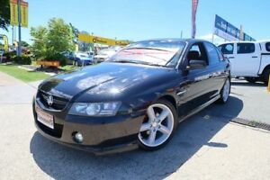 2004 Holden Commodore VZ SS Black 4 Speed Automatic Sedan