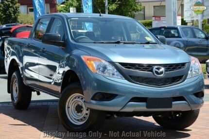 2015 Mazda BT-50 UP0YF1 XT Blue 6 Speed Manual Utility Mount Gambier Grant Area Preview