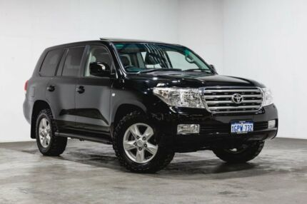 2009 Toyota Landcruiser VDJ200R Sahara Black 6 Speed Sports Automatic Wagon Welshpool Canning Area Preview