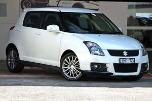 2010 Suzuki Swift RS416 Sport White 5 Speed Manual Hatchback Doncaster Manningham Area Preview