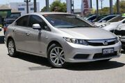 2014 Honda Civic 9th Gen Ser II MY13 VTi-L Silver 5 Speed Sports Automatic Sedan Osborne Park Stirling Area Preview