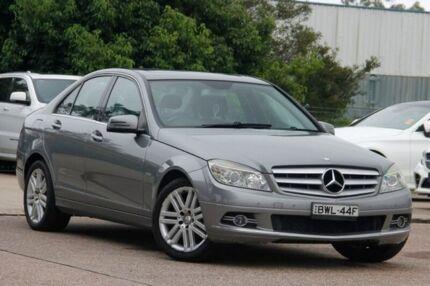 2009 Mercedes-Benz C220 CDI W204 Classic Grey 5 Speed Automatic Sedan Gateshead Lake Macquarie Area Preview