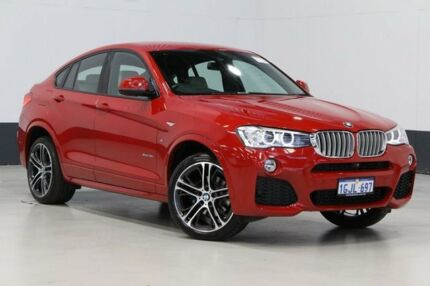 2015 BMW X4 F26 MY15 xDrive 35I Melbourne Red 8 Speed Automatic Coupe Bentley Canning Area Preview