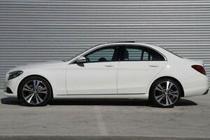 2016 Mercedes-Benz C200 White Sports Automatic Sedan Ringwood East Maroondah Area Preview