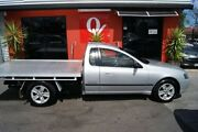 2005 Ford Falcon BF XLS Silver 4 Speed Auto Seq Sportshift Cab Chassis Blair Athol Port Adelaide Area Preview