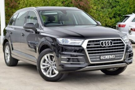 2016 Audi Q7 4M MY17 TDI Tiptronic Quattro Black 8 Speed Sports Automatic Wagon Gosford Gosford Area Preview