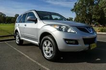 2012 Great Wall X200 CC6461KY MY11 (4x4) Silver 5 Speed Automatic Wagon Wetherill Park Fairfield Area Preview