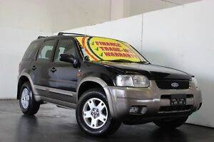 2004 Ford Escape ZB XLT Black 4 Speed Automatic Wagon Underwood Logan Area Preview