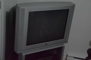 "27"" JVC TV (Tube) plus extras"