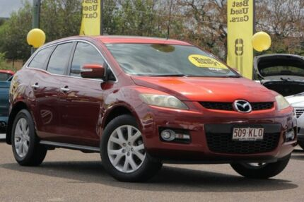 2007 Mazda CX-7 ER1031 MY07 Luxury Copper Red 6 Speed Sports Automatic Wagon