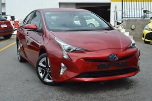 2016 Toyota Prius ZVW50R I-Tech Emotional Red 1 Speed Constant Variable Liftback Hybrid Claremont Nedlands Area Preview