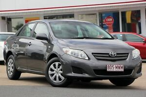 2010 Toyota Corolla ZRE152R Ascent Grey 4 Speed Automatic Sedan Woolloongabba Brisbane South West Preview