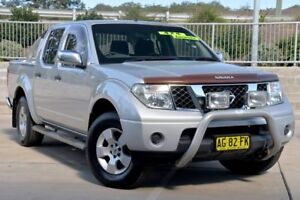 2006 Nissan Navara D40 ST-X (4x4) Silver 5 Speed Automatic Dual Cab Pick-up Lisarow Gosford Area Preview