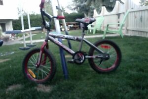 16 INCH bike illusion, like new. 50 firm good for boy a about 6