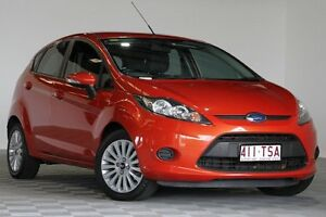 2010 Ford Fiesta WS LX Orange 5 Speed Manual Hatchback Coopers Plains Brisbane South West Preview