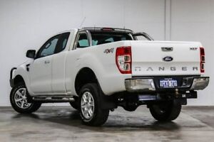 2013 Ford Ranger PX XLT Super Cab White 6 Speed Sports Automatic Utility