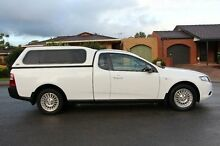 2010 Ford Falcon FG Ute Super Cab White 6 Speed Sports Automatic Utility Adelaide CBD Adelaide City Preview