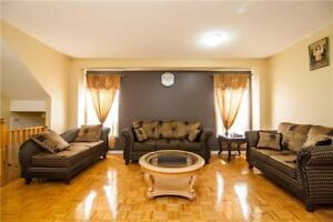 **Excellent Location! 4+2 bdrm house for sale in Brampton**
