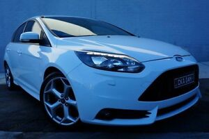 2013 Ford Focus LW MKII ST White 6 Speed Manual Hatchback Pearce Woden Valley Preview