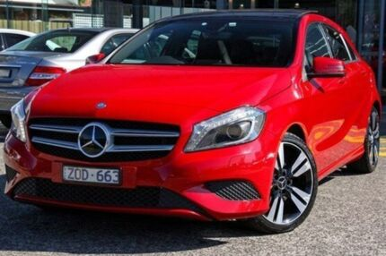 2013 Mercedes-Benz A200 CDI W176 D-CT Red 7 Speed Sports Automatic Dual Clutch Hatchback Fairfield Darebin Area Preview