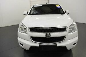 2014 Holden Colorado RG MY14 LX Crew Cab White Sports Automatic Utility Moorabbin Kingston Area Preview